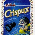 2010 WACKY PACKAGES ANS7 SILVER FLASH FOIL **CRISPUX** #9 NM