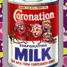 "WACKY PACKAGES FLASHBACK1 SILVER BORDER """"CORONATION MILK"""" #9  NM"