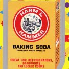 """WACKY PACKAGES FLASHBACK1 SILVER BORDER """"""""HARM & HAMMER"""""""" #14  NM"""