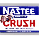 "WACKY PACKAGES FLASHBACK1 SILVER BORDER """"NAZTEE CRUZH"""" #66  NM"