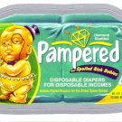 2013 WACKY PACKAGES ANS10 SILVER CARD **PAMPERED** #52 NEW SERIES