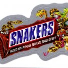 2013 WACKY PACKAGES ANS10 SILVER CARD **SNAKERS** #55 NEW SERIES