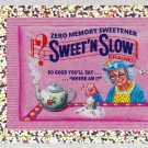 2010 WACKY PACKAGES ANS7 SILVER FLASH FOIL **SWEET'N SLOW** #8 NM