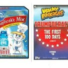 "2017 WACKY PACKAGES TRUMPOCRACY 100 DAYS ""TRUMP'S DUPLICAKE MIX"" #13"