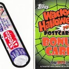 "2012 WACKY PACKAGES HALLOWEEN LIMITED EDITION ""NECKO"" BONUS CARD TS16"