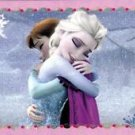 PANINI DISNEY FROZEN STICKER #E11 GLITTER!  HARD TO FIND!