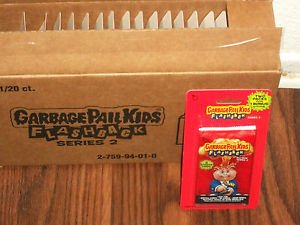 2011 TOPPS GARBAGE PAIL KIDS FLASHBACK SERIES 2 BLISTER PACK. BRAND NEW