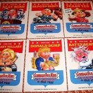 2016 Garbage Pail Kids Presidential Set of 5x7 Cards TRUMP/CLINTON/SANDERS ++