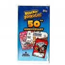 "2017 WACKY PACKAGES 50TH ANNIVERSARY SERIES ""PICK-A-SINGLE"" STICKER CARD ONLY $1"