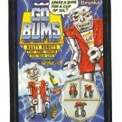 "1986 WACKY PACKAGES ALBUM SERIES STICKER ""GO BUMS"" #45 ONLY 99 CENTS"