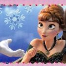 PANINI DISNEY FROZEN ALBUM STICKER #37 GLITTER!  HARD TO FIND