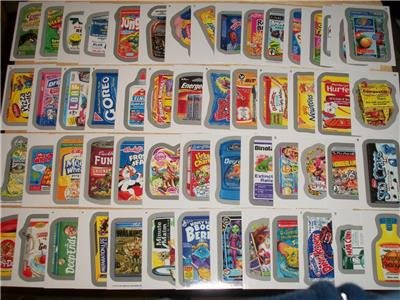 2013 WACKY PACKAGES ALL NEW SERIES 11 (ANS11) COMPLETE SILVER BORDER SET