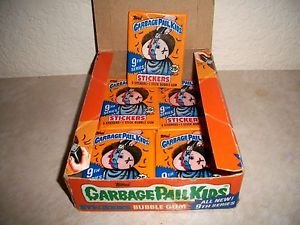 """1987 Vintage Garbage Pail Kids 9TH SERIES """"PACK"""" GUM MADE IN CANADA """"RARE"""""""