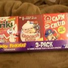 2010 WACKY PACKAGES ALL NEW SERIES 7 {ANS7} SEALED CEREAL BOX SET OF 3 B-SET