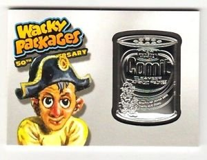 """2017 Wacky Packages 50th Anniversary MEDALLION """"COMET CLEANSER"""" 49/50 RARE!!"""