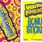 "2014 WACKY PACKAGES SERIES 1 ""BLUBBERFINGER"" BONUS STICKER  B1"