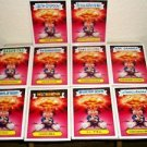 2015 GARBAGE PAIL KIDS FOREIGN LEGION COMPLETE 5X7 ADAM BOMB STICKER SET-SDCC/15