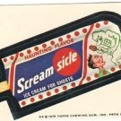 "1975 WACKY PACKAGES ORIGINAL 13th SERIES ""SCREAM SICLE"" STICKER"