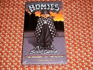 """Homies """"The Baddest on the Block"""" Trading Cards Box (NECA 2004) BRAND NEW SEALED"""