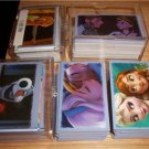 PANINI DISNEY FROZEN LOT OF 100 DIFFERENT ALBUM STICKERS PACK FRESH NM/MINT