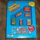 2011 WACKY PACKAGES SEALED BOX 12 ERASERS (OUT OF PRINT) BRAND NEW