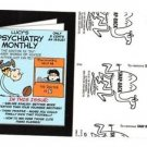 "2017 Wacky Packages 50th Anniversary BLACK LUDLOW ""LUCY'S PSYCHIATRY"" 14/99"