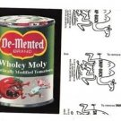 "2017 Wacky Packages 50th Anniversary BLACK LUDLOW ""DE~MENTED TOMATOES"" 66/99"