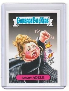 "2017 Wacky Packages-Garbage Pail Kids 2017 THE SHAMMY'S ""ANGRY ADELE"" LIMITED"
