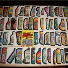 2005 WACKY PACKAGES ALL NEW SERIES 2 (ANS2) COMPLETE 55 STICKER SET + WRAPPER