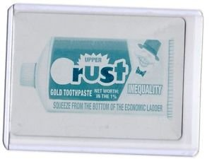 "2017 Topps Wacky Packages 50th Anniversary CYAN PRINTING PLATE ""CRUST TOOTHPASTE"