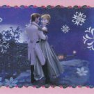 PANINI DISNEY FROZEN STICKER  #A6 GLITTER!!  HARD TO FIND!!