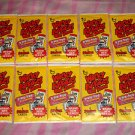 "2014 WACKY PACKAGES OLD SCHOOL SERIES 5 {OS5) LOT OF ""TEN NEW PACKS"" NEW SERIES"
