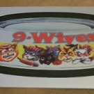 "WACKY PACKAGES CHROME SERIES 1 ""9-WIVES"" #17 CUTTING ROOM FLOOR INSERT CARD"
