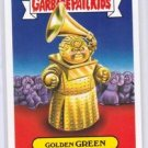 "2017 Wacky Packages-Garbage Pail Kids 2017 THE SHAMMY'S ""GOLDEN GREEN"" LIMITED"