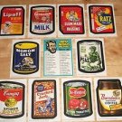 2011 Wacky Packages Old School Series3 Complete 1967 TAN Set,Checklist & WRAPPER