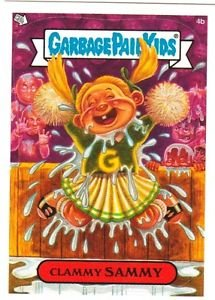 "2004 GARBAGE PAIL KIDS ALL NEW SERIES 3 {ANS3} ""CLAMMY SAMMY"" #4b STICKER CARD"