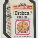 "1974 WACKY PACKAGES ORIGINAL 10TH SERIES ""POOPEDRIDGE FARM"" STICKER CARD"