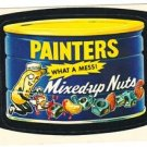 "1974 WACKY PACKAGES ORIGINAL 10TH SERIES ""PAINTERS PEANUTS"" STICKER CARD"