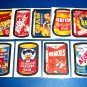 """2005 WACKY PACKAGES ALL NEW SERIES2 (ANS2) COMPLETE """"MAGNET"""" SET 9/9 + 1 WRAPPER"""