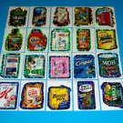 2010 WACKY PACKAGES ALL NEW SERIES 7 {ANS7} COMPLETE FLASH FOIL SET! 20/20 NICE