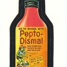 "1986 WACKY PACKAGES ALBUM SERIES STICKER ""PEPTO-DISMAL"" #55 ONLY 99 CENTS"