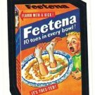"TOPPS WACKY PACKAGES 1982 SERIES ALBUM STICKER ""FEETENA"" #64"