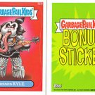 2013 GARBAGE PAIL KIDS BRAND NEW SERIES3 (BNS3) BONUS STICKER-KISSED KYLE- B23b