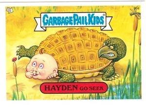 """2004 GARBAGE PAIL KIDS ALL NEW SERIES 2 {ANS2} """"HAYDEN GO SEEK"""" #35a STICKER"""