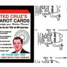 "2017 Wacky Packages 50th Anniversary BLACK LUDLOW ""TED CRUZ'S TAROT CARDS"" 31/99"