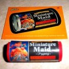 "WACKY PACKAGES ERASER SERIES 1 ""MINIATURE MAID"" ERASER & MATCHING STICKER #15"