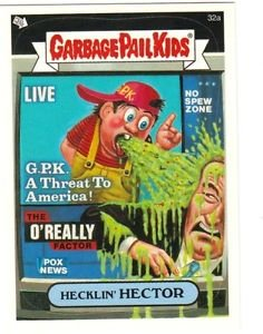 """2004 GARBAGE PAIL KIDS ALL NEW SERIES 2 {ANS2} """"HECKLIN' HECTOR"""" #32a STICKER"""