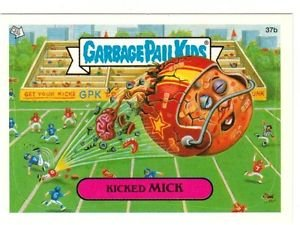 "2004 GARBAGE PAIL KIDS ALL NEW SERIES 3 {ANS3} ""KICKED MICK"" #37b STICKER"