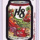 "WACKY PACKAGES POSTCARDS SERIES 6  ""H8 VEGETABLE JUICE"" #TS8 SIGNED BONUS CARD"