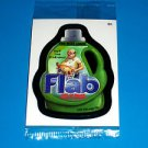 "2012 WACKY PACKAGES ALL NEW SERIES 9 {ANS9} BONUS CARD ""FLAB""  B1 IN CELLOPHANE"